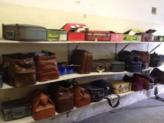 The member's bag room