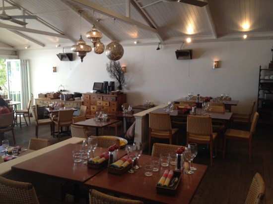 The restaurant is often booked for functions including weddings