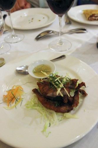 Twice-cooked quail $16.00