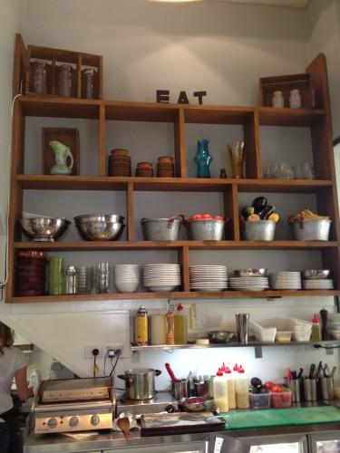 A very little kitchen