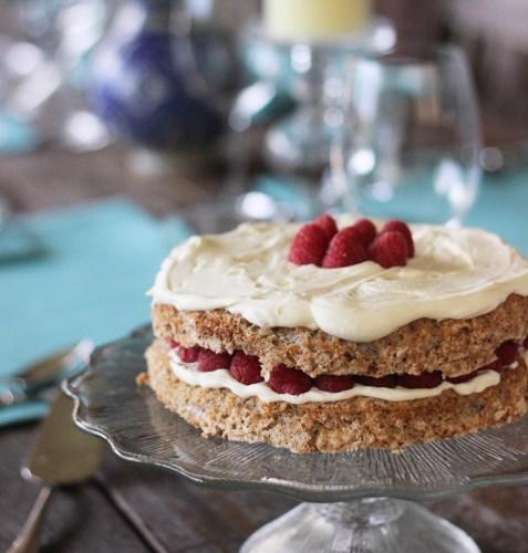 Hazelnut Meringue Torte