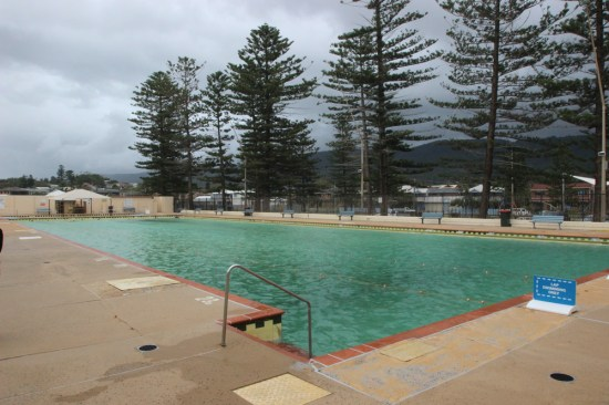 Thirroul Olympic Pool - just like in 1930, there's still free entry