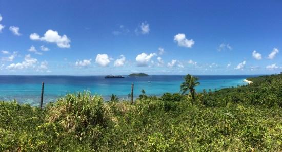 It's a stunning island