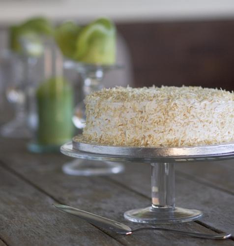 Gluten-free, dairy-free hummingbird cake