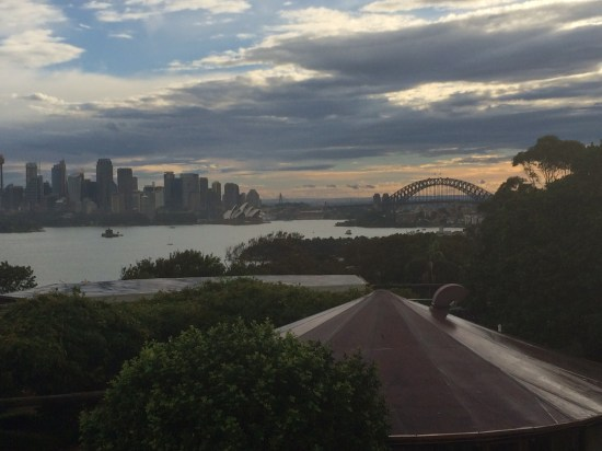 And the sun begins to set on Sydney Harbour