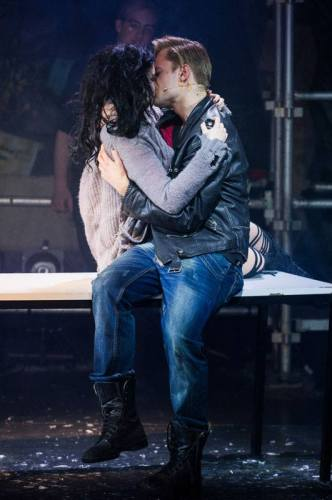 Roger and Mimi in Rent