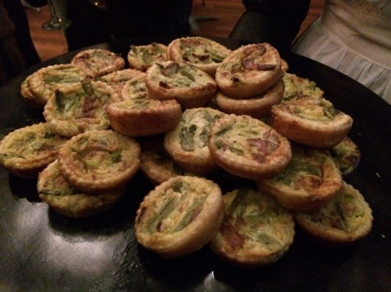 Asparagus and Mushroom mini quiches