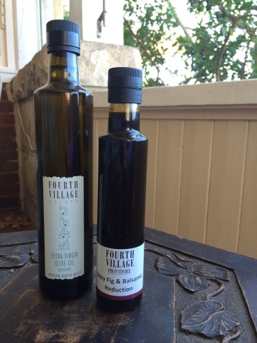 Olive oil and balsamic vinegar reduction