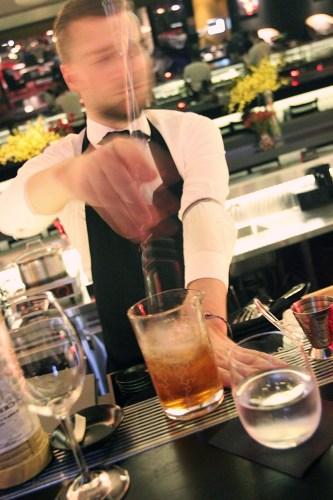 Barman action