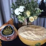 Prosciutto di Parma and Parmigiano Reggiano