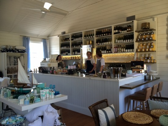 The 'kitchen' bar area