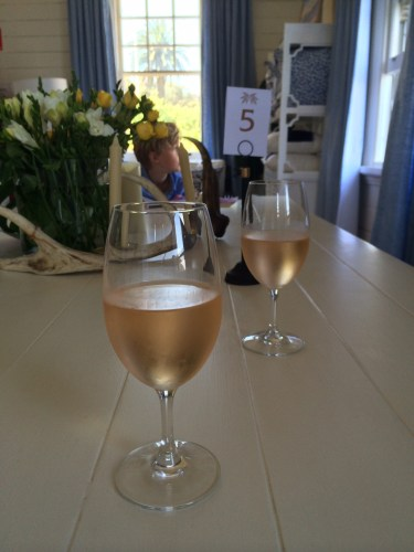 Tar and Roses Pinot Grigio:  $10.00/glass