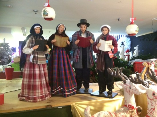 Carolsers - Is there anything better than carollers in your street!