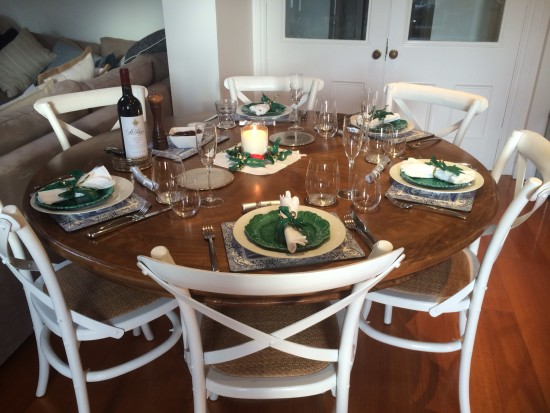 A beautiful table setting