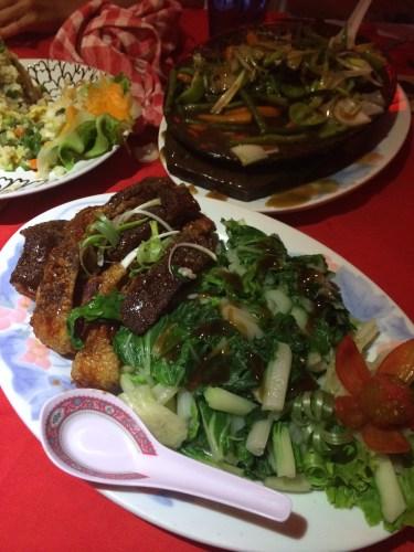 Roast Pork:  1950 vt or about AUS$25.00