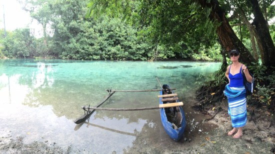 These canoes are used for fishing