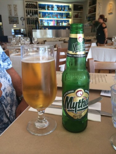 Starting with a Greek beer