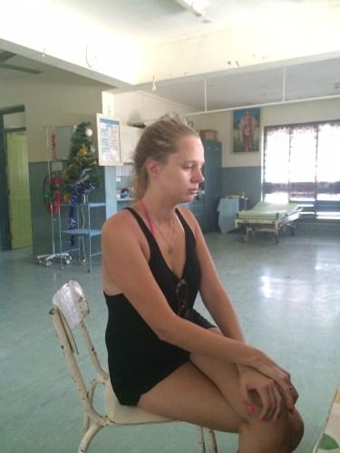 In the local hospital in Santo, Vanuatu