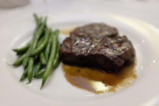 My friend's steak