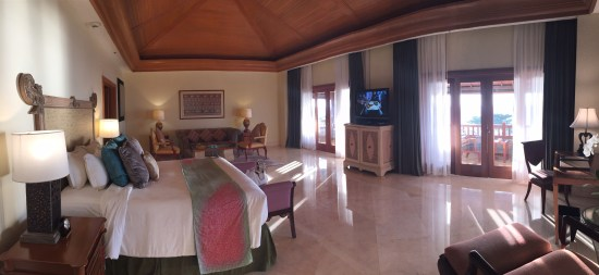 Our spacious room.
