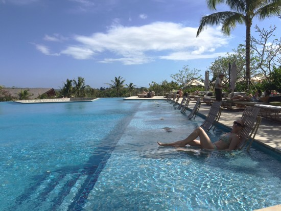 Pool at Rimba
