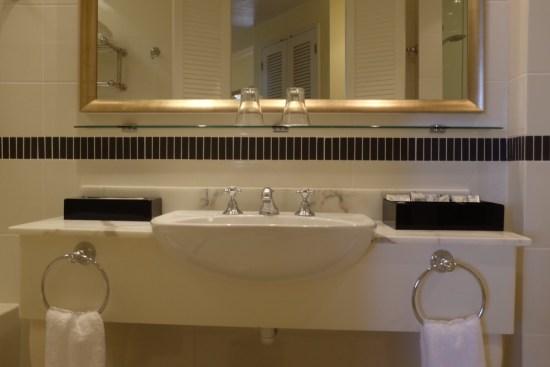 Bathroom has been modernised