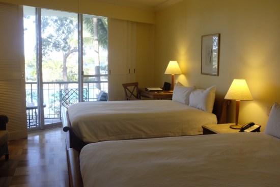 Room 337 overlooking the lagoon pool