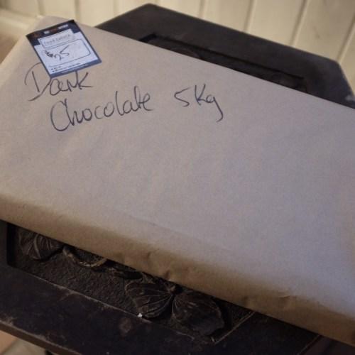 5kgs of dark chocolate