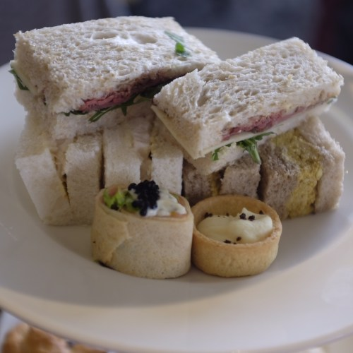 A selection of sandwiches