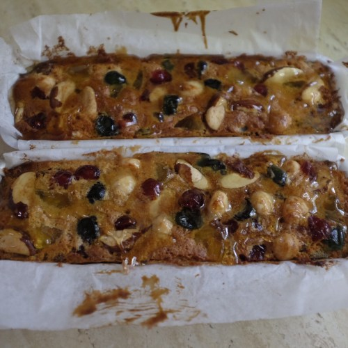 Festive Fruit and Nut Cakes