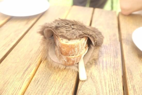 Housemade rye bread