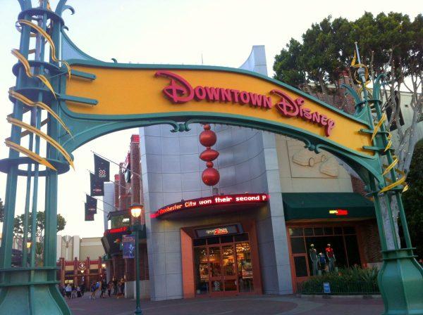 In Downtown Disney Anaheim With Kids