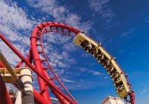 Big Apple Las Vegas Roller Coaster