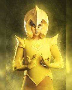 Yellow Diamond Custom Cosplay Costume