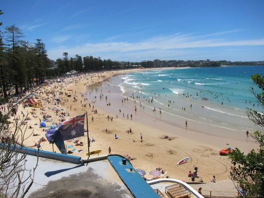 Manly beach is why move to Australia