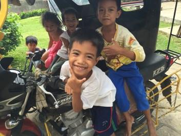 children in coron Philippines