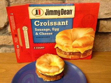 Jimmy dean croissant sausage egg cheese sandwich