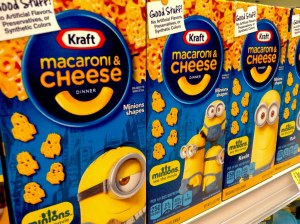 Kraft Mac and cheese box American Macaroni and cheese