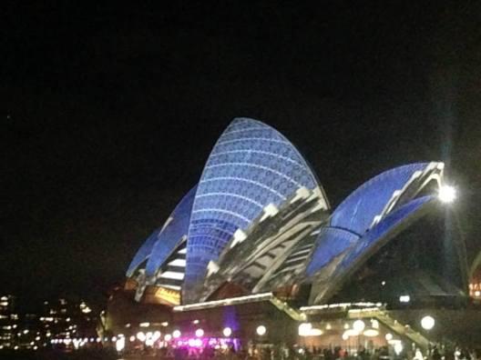 Vivid Light Festival Sydney Australia Opera House