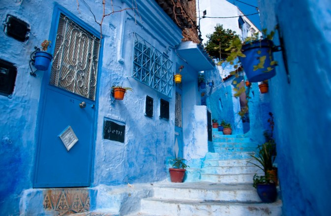 chefchaouen moroccoo Blue city