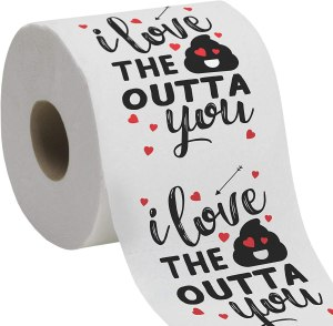 funny toliet paper, cute gift for your partner