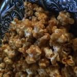Vanilla Cinnamon Caramel Popcorn