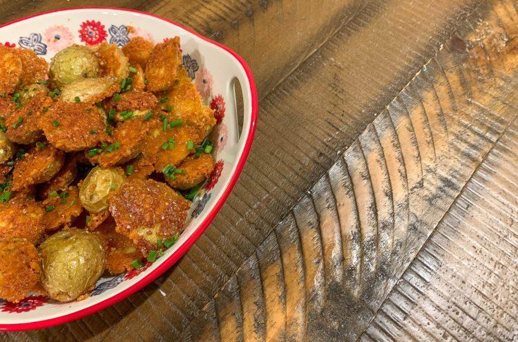 Parmesan-Crusted Potatoes