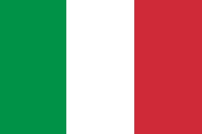 italian flag for growing up italian