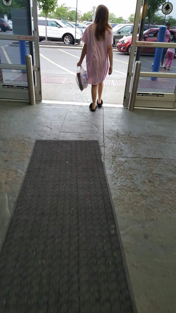 Walmart trainwreck