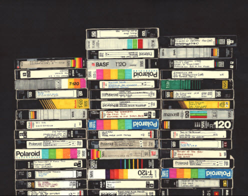 80's VCR Tapes