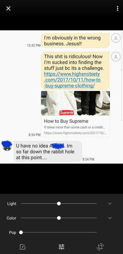 Aunt Text