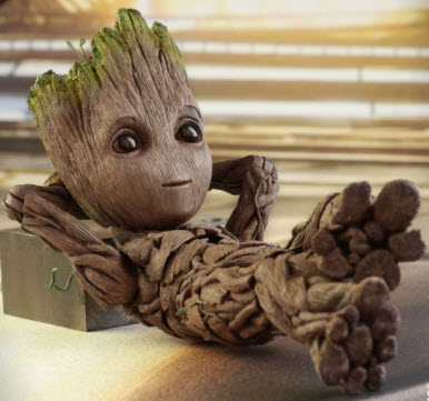 An Ode to Baby Groot