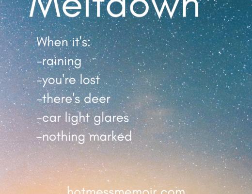 adult meltdown