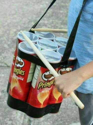 pringle drums